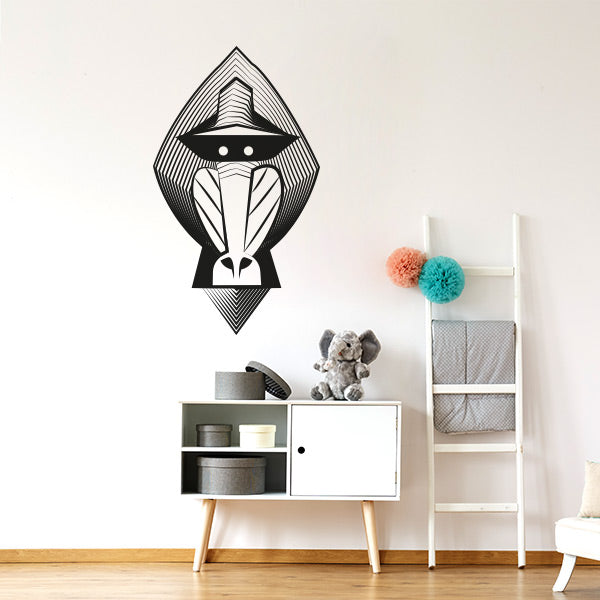 Sticker mural déco Mandrill