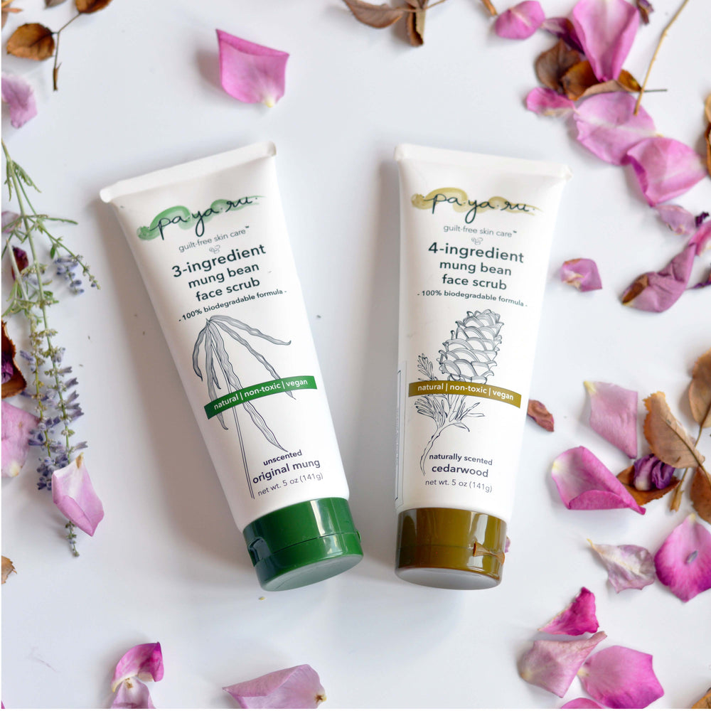 Mung Bean Face Scrub Set