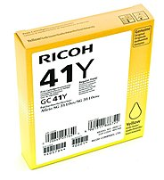 Ricoh Aficio SG 3100SNw 3110DN 3110DNw 3110SFNw 7100DN Yellow Ink Cartridge (2200 Yield) (Type GC41Y)