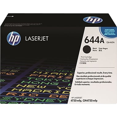 HP 644A (Q6460A) Color LaserJet 4730 CM4730 Black Original LaserJet Toner Cartridge (12000 Yield)