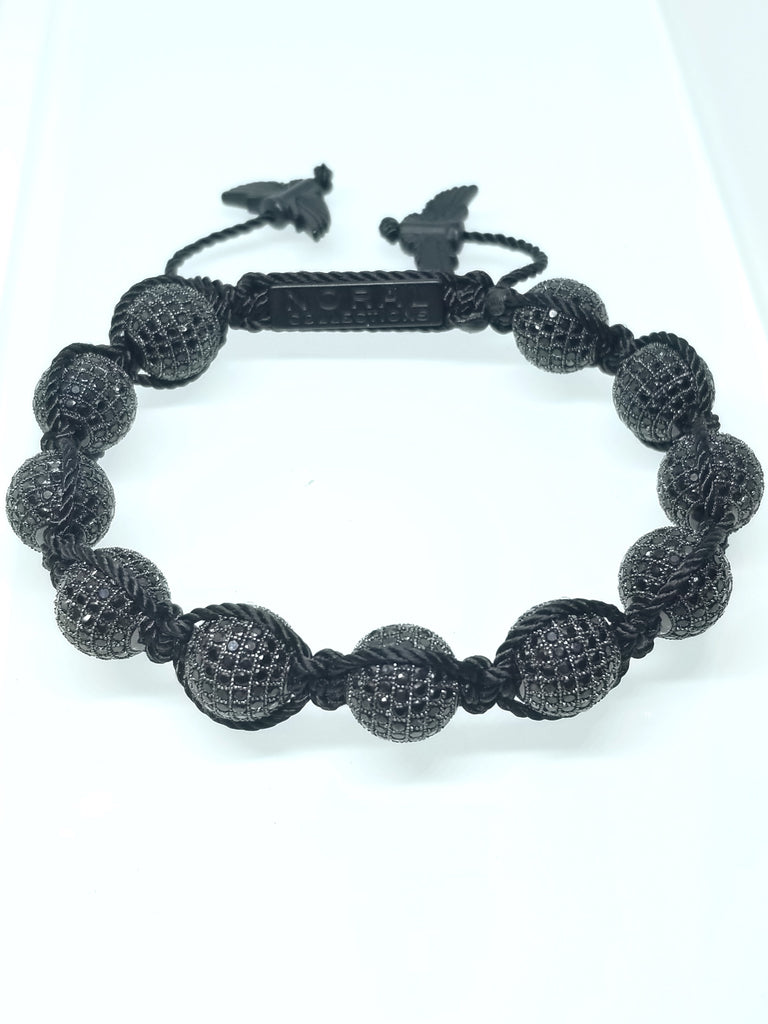 ALL BLACK CZ DIAMOND BRACELET