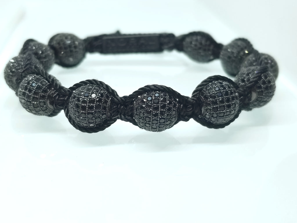 Black CZ Diamond Bracelet