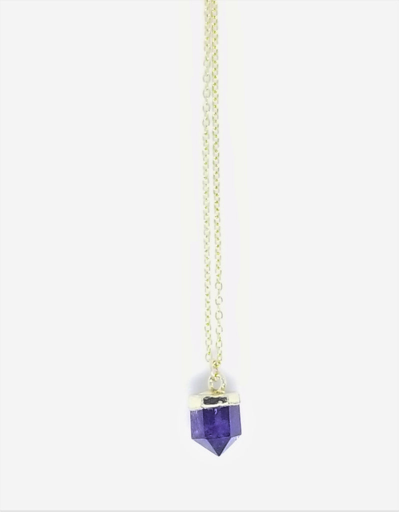 DAINTY AMETHYST NECKLACES