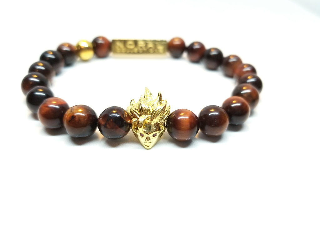 Anime Super Red Tiger Eye Bracelet