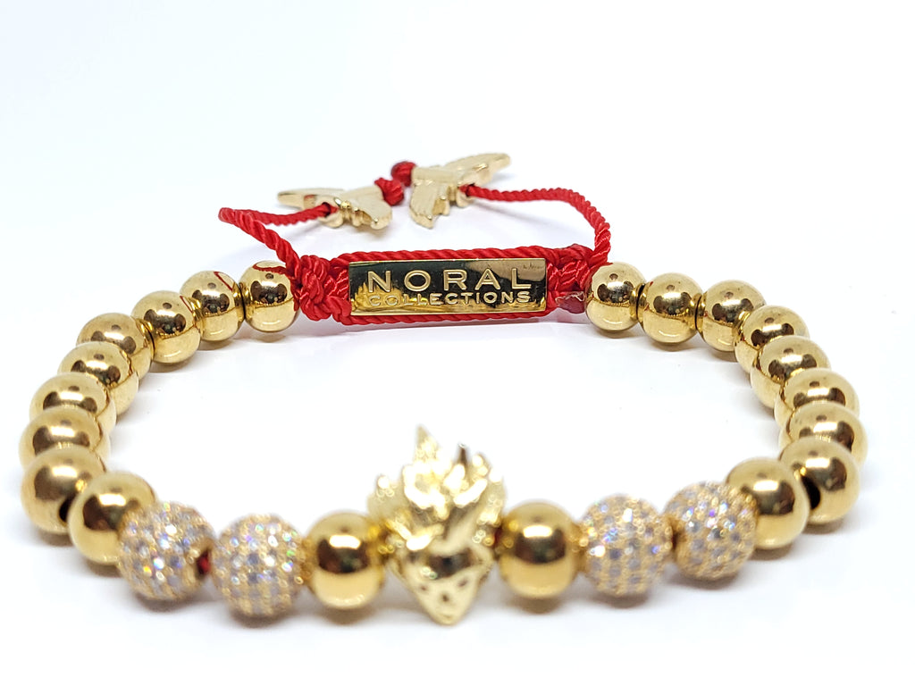 Anime All Gold Super Bracelet