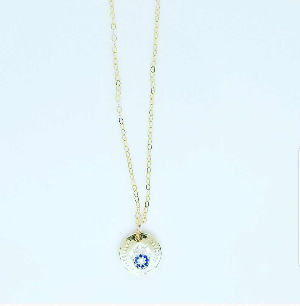 HAMSA HAND COIN NECKLACES