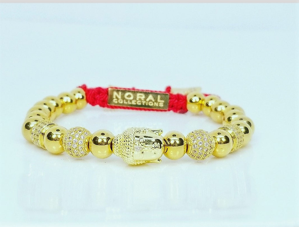 All Gold Buddha Bracelet