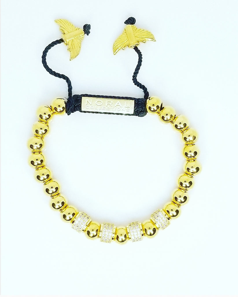 4 Space All Gold Bracelet