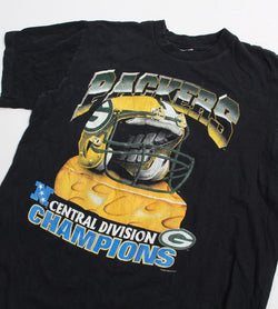 VINTAGE GREEN BAY PACKERS 1996 PRO SPORTS TEE - SIZE L