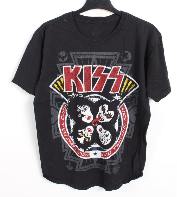 VINTAGE BAND T SHIRT- SIZE M - KISS