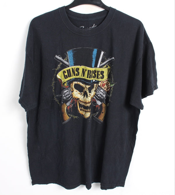 VINTAGE BAND T SHIRT- SIZE XL - GUNS N ROSES