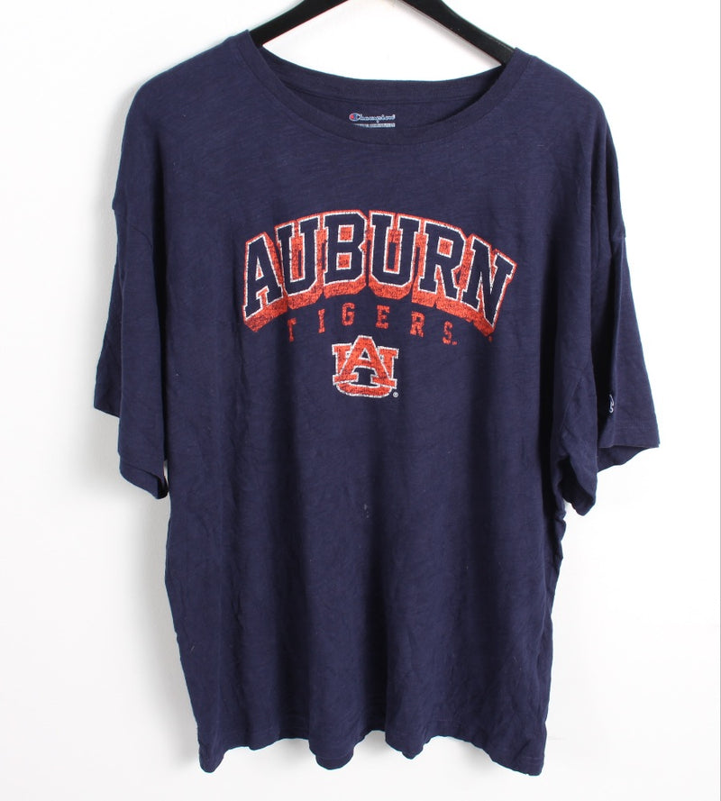VINTAGE AUBURN TIGERS  SPORTS TEE - SIZE 2XL