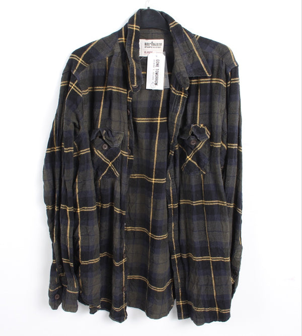 VINTAGE FLANNEL SHIRT - SIZE - XL