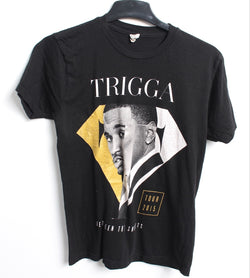 VINTAGE BAND T SHIRT- SIZE S - TREY SONGZ