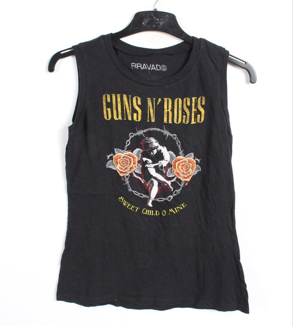 VINTAGE BAND T SHIRT- SIZE S - GUNS N ROSES