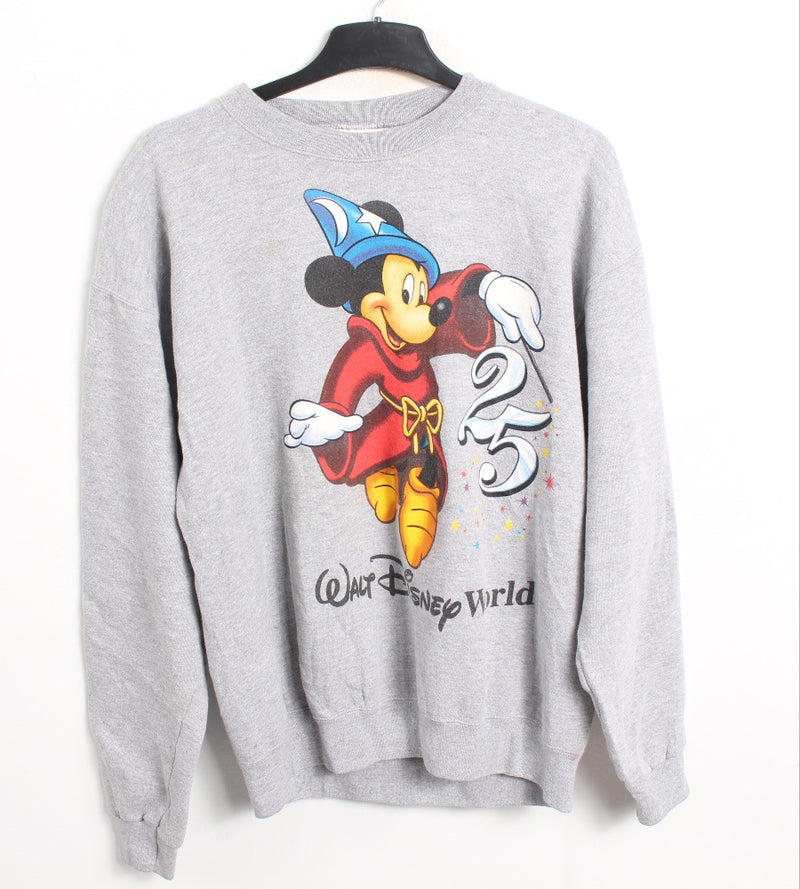 VINTAGE MICKEY CARTOON SWEATER - SIZE L