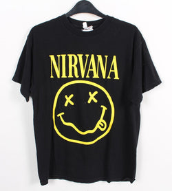 VINTAGE BAND T SHIRT- SIZE M - NIRVANA