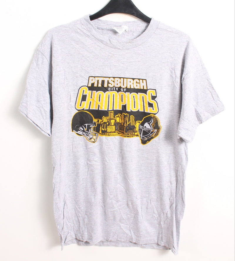 VINTAGE PITTSBURGH STEELERS SPORTS TEE - SIZE M