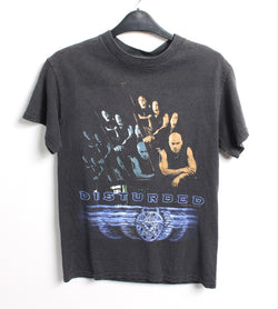 VINTAGE BAND T SHIRT- SIZE S - DISTURBED
