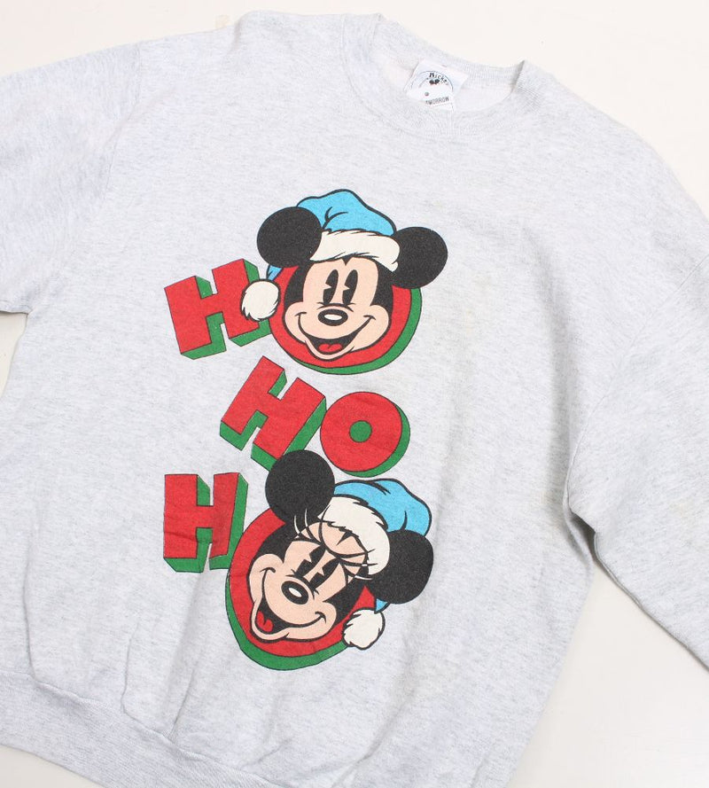 VINTAGE MICKEY MOUSE CARTOON SWEATER - SIZE M