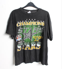 VINTAGE DALLAS STARS SPORTS TEE - SIZE L
