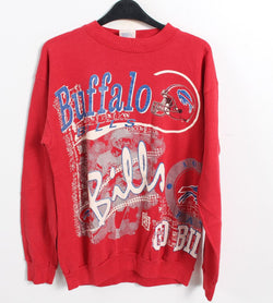 VINTAGE BUFFALO BILLS SWEATER - SIZE L