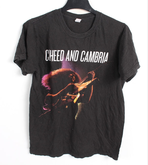 VINTAGE BAND T SHIRT- SIZE S- COHEED AND CAMBRIA