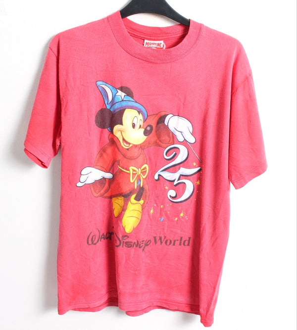 VINTAGE CARTOON T SHIRTS- SIZE M - MICKEY MOUSE