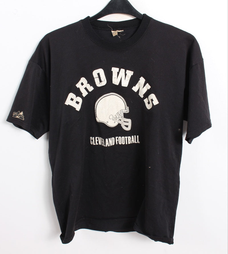 VINTAGE BROWNS SPORTS TEE - SIZE XL