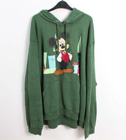 VINTAGE MICKEY CARTOON HOODIE - SIZE 2XL