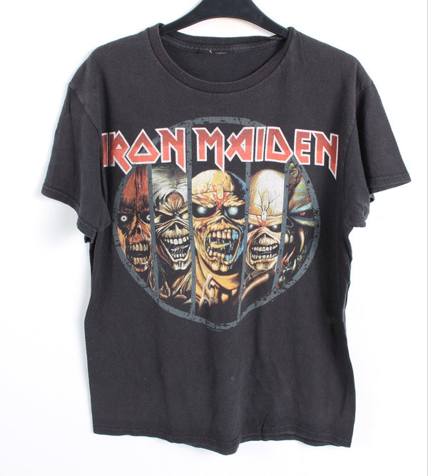 VINTAGE BAND T SHIRT- SIZE S - IRON MAIDEN