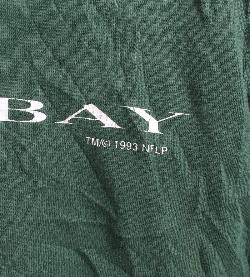 VINTAGE GREEN BAY PACKERS 1993 SPORTS TEE - SIZE L