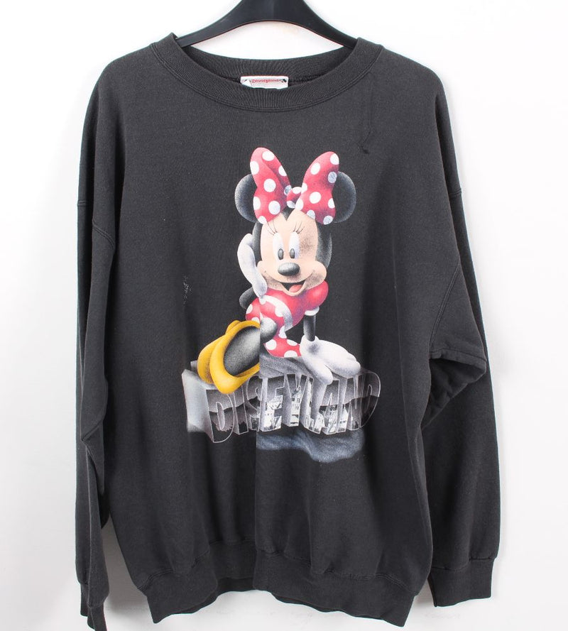 VINTAGE MINNIE MOUSE CARTOON SWEATER - SIZE L