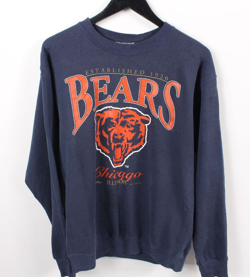 VINTAGE CHICAGO BEARS 1993 PRO SPORTS SWEATER - SIZE XL