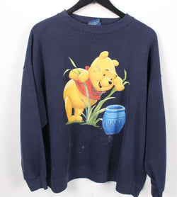 VINTAGE WINNIE THE POOH CARTOON SWEATER - SIZE L/XL