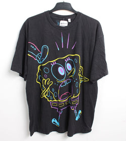 VINTAGE CARTOON T SHIRTS -SPONGEBOB SQUAREPANTS - SIZE XL
