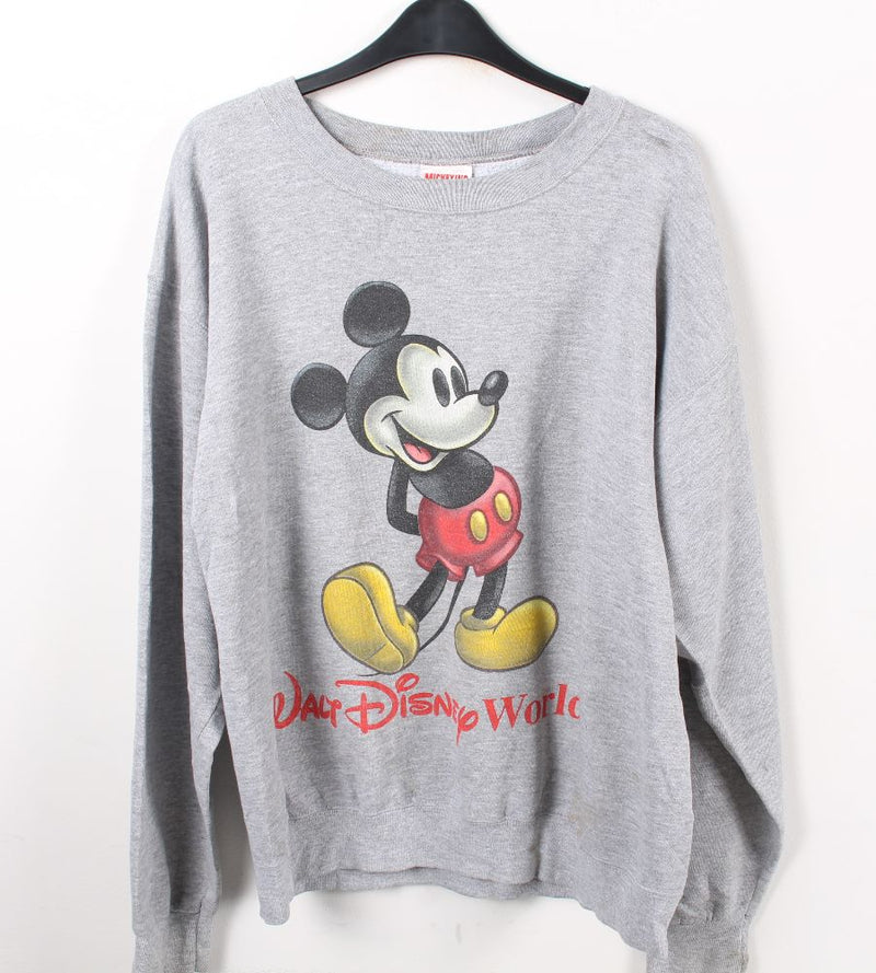 VINTAGE MICKEY MOUSECARTOON SWEATER - SIZE S/M