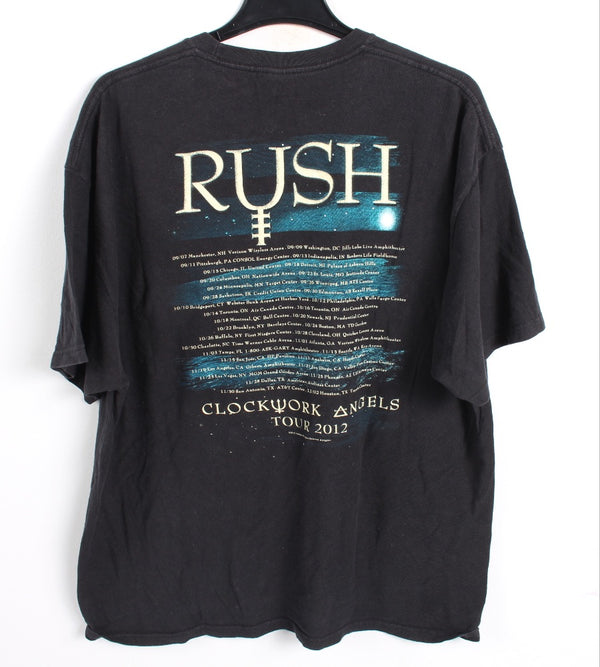 VINTAGE BAND T SHIRT- SIZE XL - RUSH
