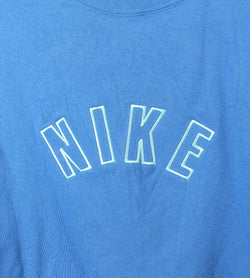 VINTAGE NIKE SPELLOUT CROPPED TEE- SIZE 2XL