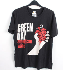 VINTAGE BAND T SHIRT- SIZE M - GREEN DAY