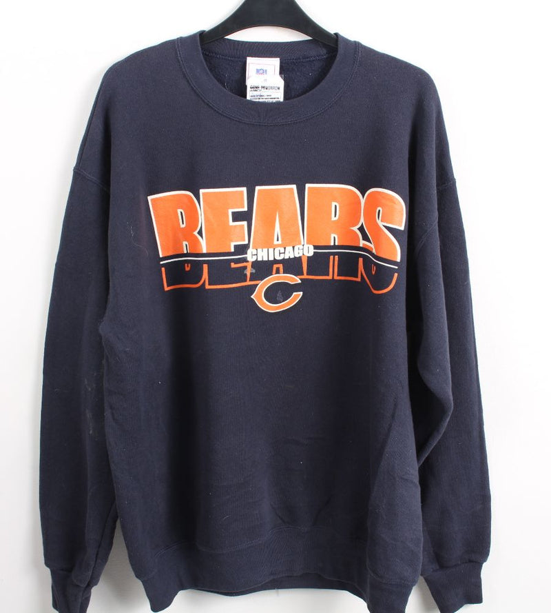 VINTAGE CHICAGO BEARS PRO SPORTS SWEATER - SIZE L