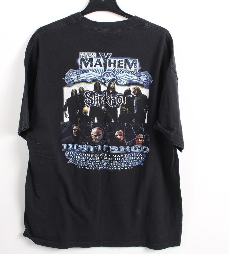 VINTAGE BAND T SHIRT- SIZE XL - MAYHEM FEST