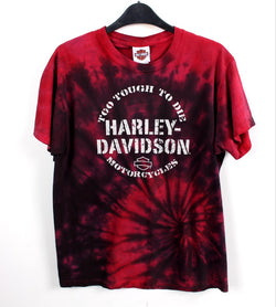 VINTAGE EXCLUSIVE HARLEY TIE-DYE T SHIRTS- SIZE M