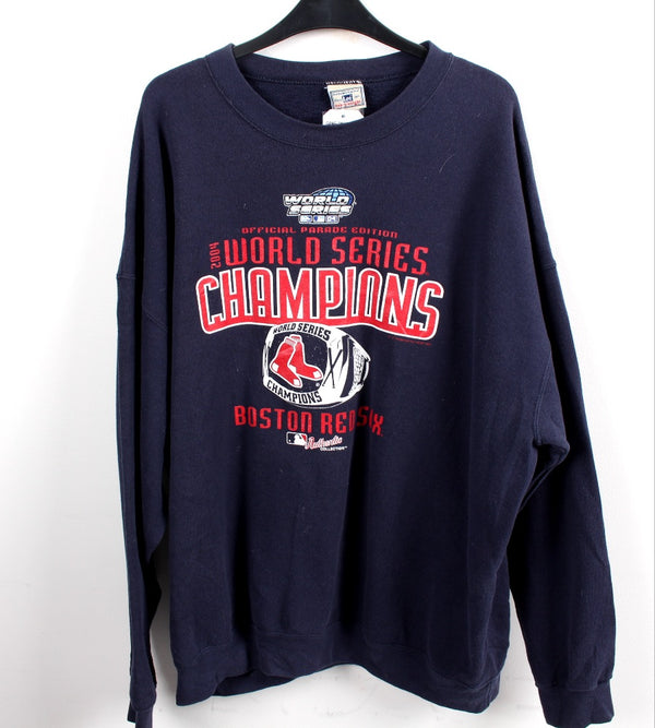 VINTAGE BOSTON RED SOX PRO SPORTS SWEATER - SIZE 2XL