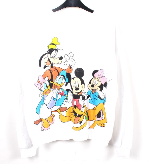 VINTAGE DISNEY CARTOON SWEATER - SIZE L