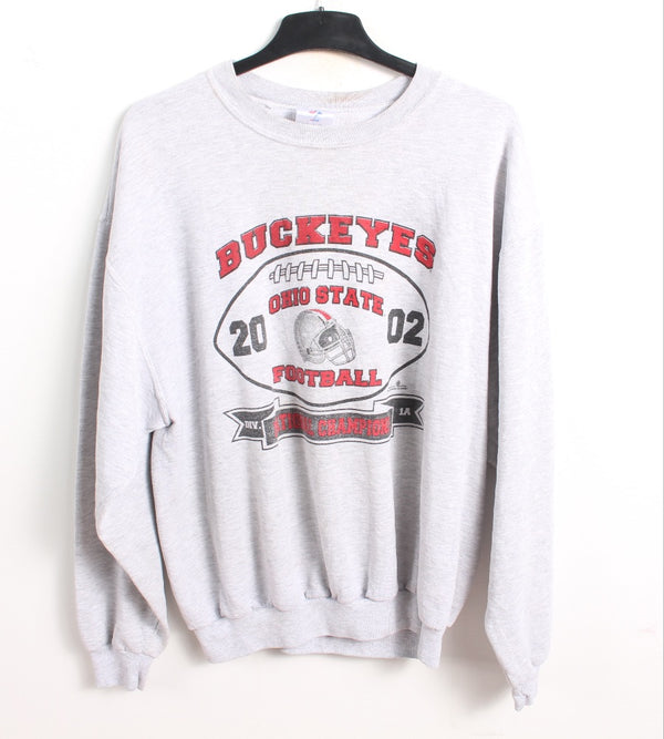 VINTAGE OHIO STATE SPORTS COLLEGE SWEATER - SIZE L