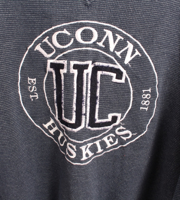 VINTAGE UNIVERSITY OF CONNITICUT SWEATER - SIZE M