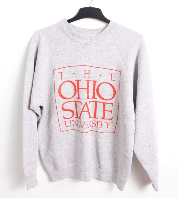 VINTAGE OHIO STATE COLLEGE SWEATER - SIZE L