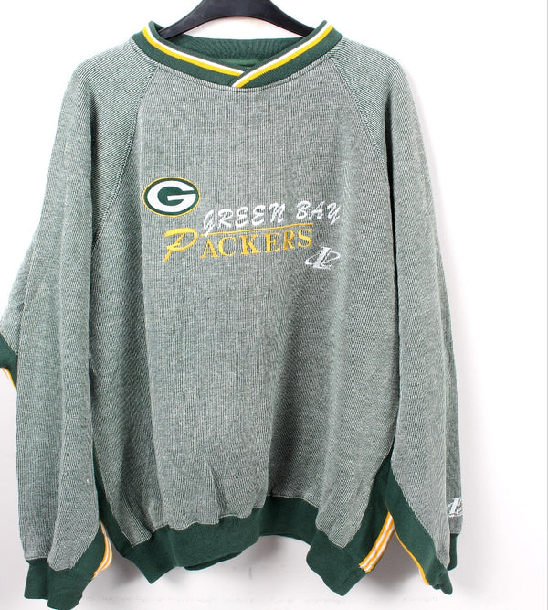 VINTAGE GREEN BAY PACKERS PRO SPORTS SWEATER - SIZE XL