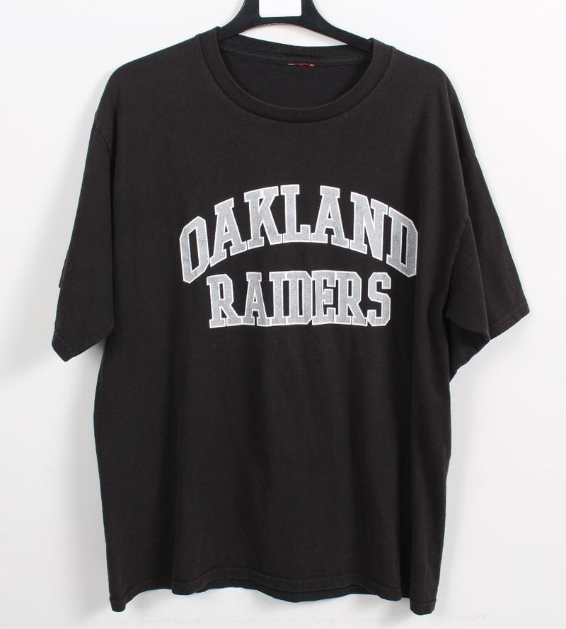 VINTAGE OAKLAND RAIDERS  PRO SPORTS TEE - SIZE L